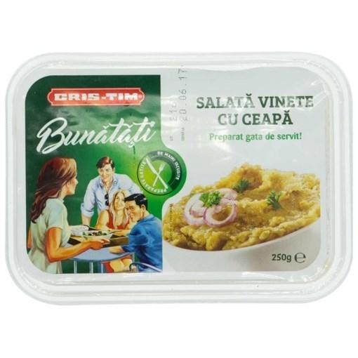 Imagine Salata de Vinete Cu Ceapa Cris-Tim 250 gr.
