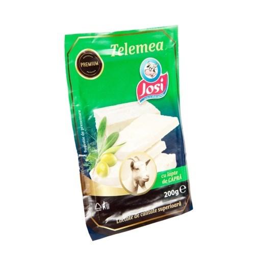 Imagine Telemea cu lapte de capra Josi, 200 gr.