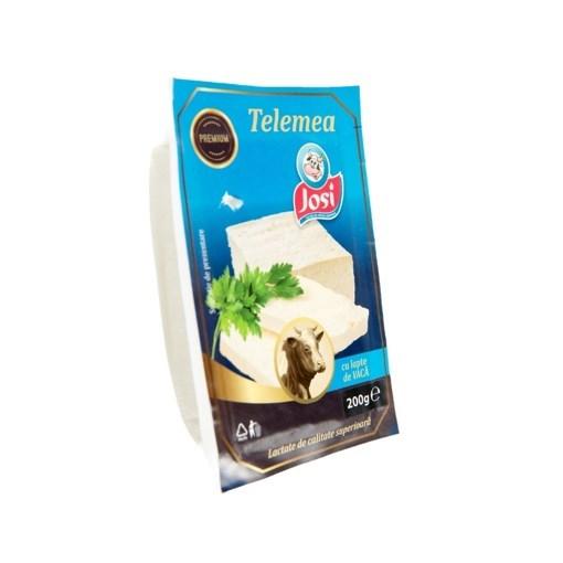 Imagine Telemea cu lapte de vaca Josi, 200 gr.