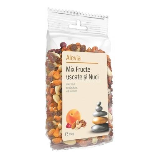 Imagine Alevia - Mix 5 fructe (Stafide+Caise+Merisor+Caju+Migdale) 150 g
