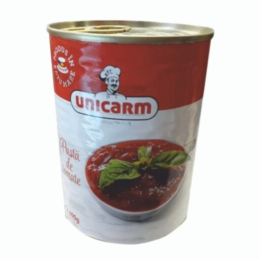 Imagine Pasta de tomate Unicarm, 400 gr.