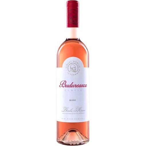 Vin Budureasca Rose Demi Sec, 750 ml