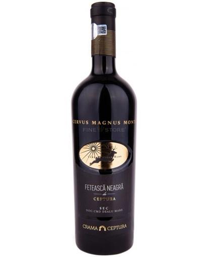 Imagine Vin Ceptura Cervus Magnus Monte, Feteasca Neagra, 0.75l