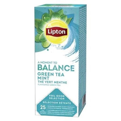 Imagine Lipton ceai Verde si Menta 40g