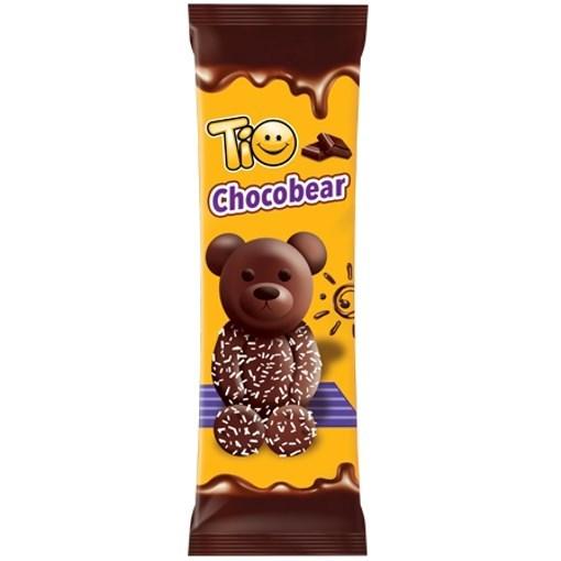 Imagine Prajitura Tio Chocobear cu ciocolata, 60g