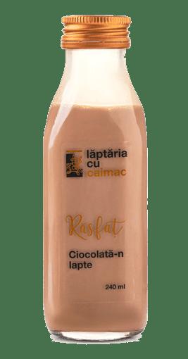 ciocolata laptaria cu caimac