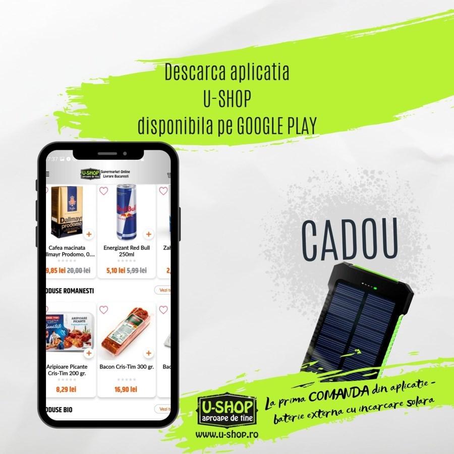U-shop lanseaza aplicatia U-shop Delivery – disponibila in PlayStore