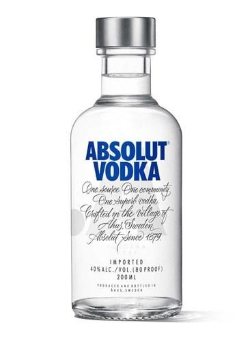 Vodka Absolut Blue 200ml