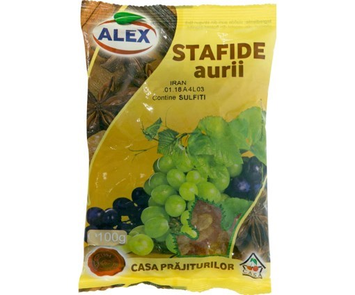 Stafide Aurii Alex 50g