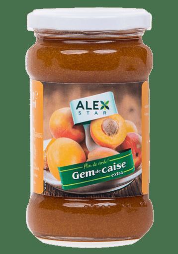 Gem de piersici extra Alex Star 375g