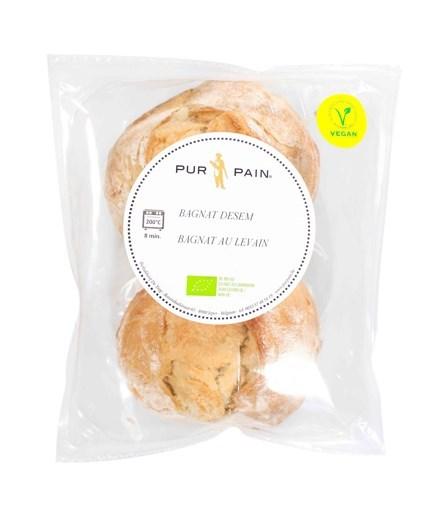 Imagine Chifla Rustica Vegan Bio Pur Pain, 160g, pachet 2 bucati