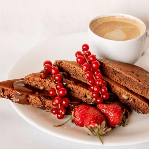 Imagine Clatite cu Visine, Cacao si Smochine Ohvaz, 210g, 2 bucati