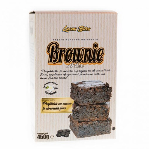 Imagine Mix pentru Brownie Professional 450gr