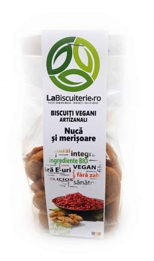 Imagine Biscuiti Vegani Nuca si Merisoare 140g