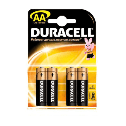 Imagine Set 4 Baterii AA alcalina DuraCell