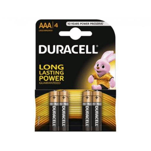Imagine Set 4 Baterii AAA alcaline Duracell LR3