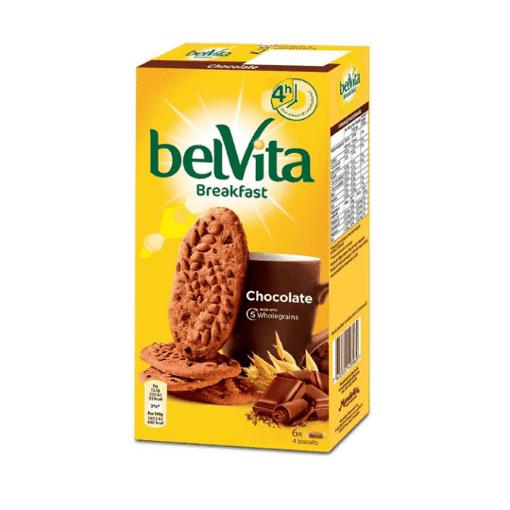 Imagine Biscuiti cu cereale si ciocolata Belvita Start 300g