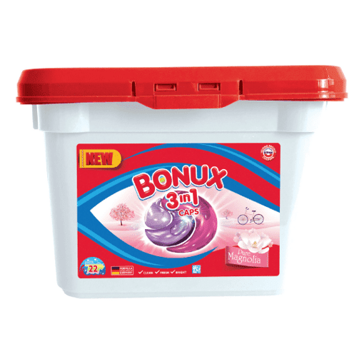 Imagine Detergent Capsure Magnolie Bonux 3in1, 12 capsule