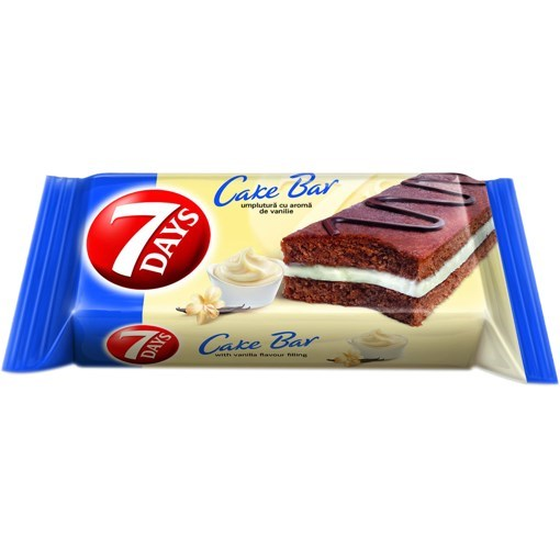 Imagine Cakebar cu Vanilie 7Days  32g