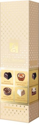 Imagine Bomboane asortate  de ciocolata Emoti Le Charme 65g