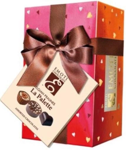 Imagine Bomboane asortate de ciocolata Emoti Le Palette 75g
