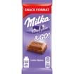 Imagine Milka ciocolata cu lapte 45g