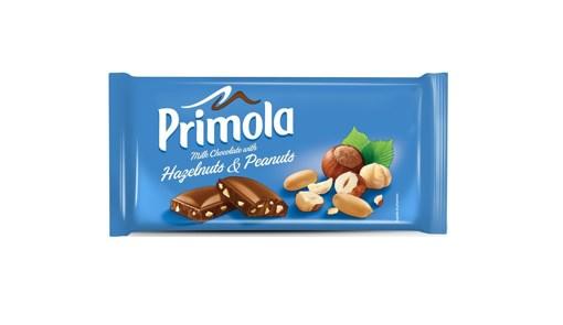 Imagine Ciocolata Primola Lapte Alune&Aranide 80g