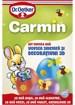 Imagine Kit vopsea oua sidefata si decoratiuni 3D Carmin, 40 oua, 20g