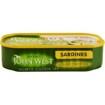 Imagine Sardine in ulei de floarea soarelului John West 120 gr