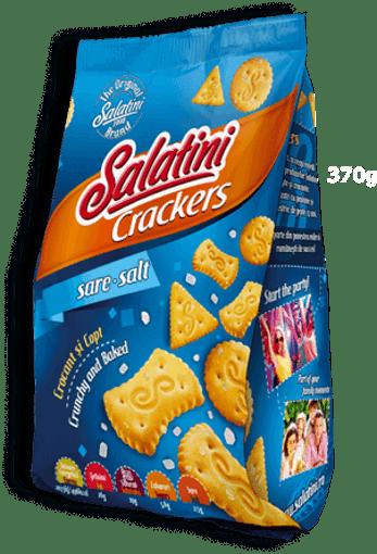 Imagine Biscuiti Salatini cu sare 370g
