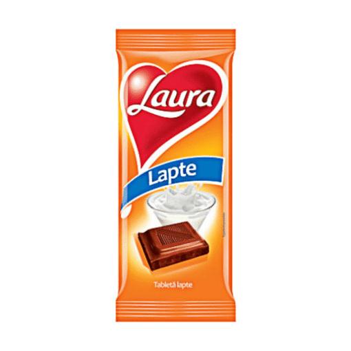 Imagine Ciocolata cu Lapte Laura 80g