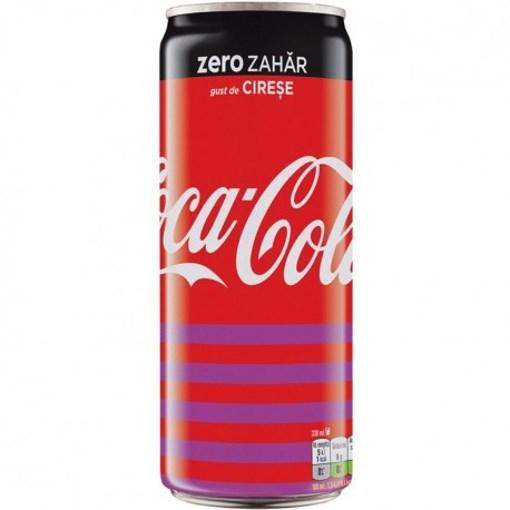 Imagine Coca Cola Zero Cherry 330ml