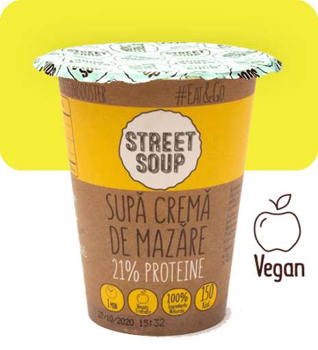 Imagine Supa Crema de Mazare Street Soup 50g