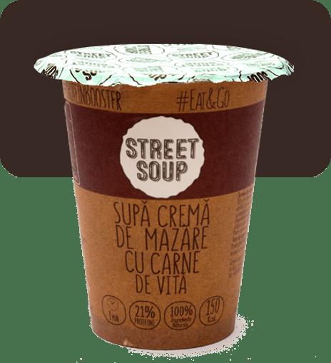 Imagine Supa Crema de Mazare cu Vita Street Soup 50g