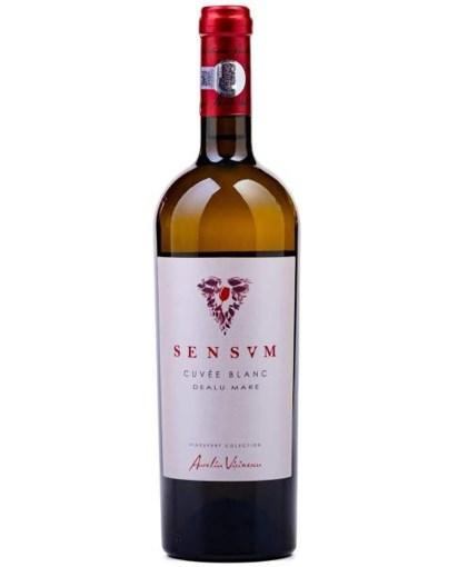 Imagine Vin Aurelia Visinescu Sensum Cuvee Blanc, Alb Sec, 0.75L