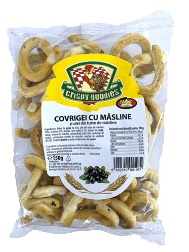 Imagine Covrigei cu Masline Crispy Goodies 150g
