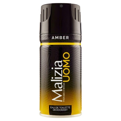 Imagine Deodorant Barbat Malizia Men Amber 150ml