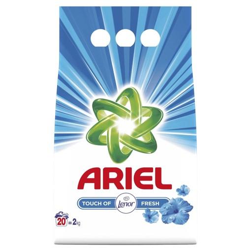 Imagine Detergent automat Ariel cu Lenor Touch Fresh 2Kg