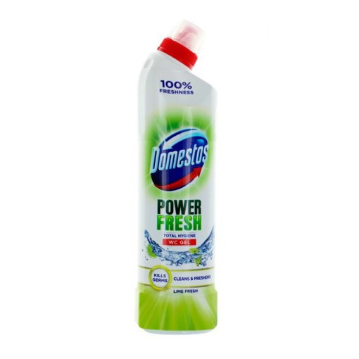 Imagine Dezinfectant WC Domestos Total Hygiene Gel Lime,700ml
