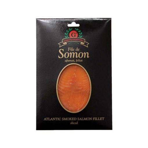 Imagine File de Somon Afumat Gastronatura 100g