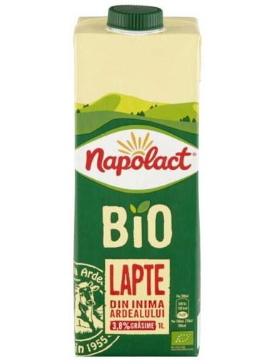 Imagine Lapte Bio Napolact 3.8% 1L