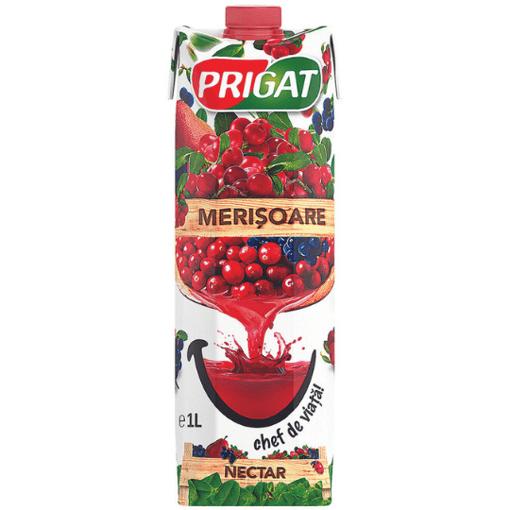 Imagine Prigat Nectar Merisoare 1L