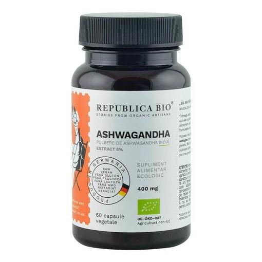 Imagine Ashwagandha ecologica Republica BIO Extract 5%, 60 capsule