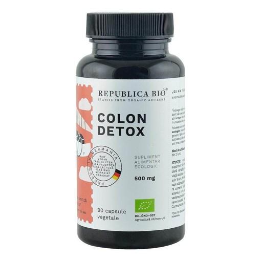 Imagine Colon Detox ecologic Republica BIO, 90 capsule