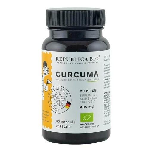Imagine Curcuma ecologica Republica BIO, 60 capsule