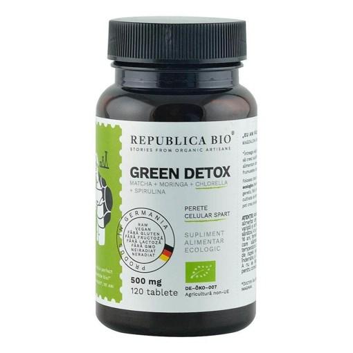 Imagine Green Detox ecologic Republica BIO, 120 tablete