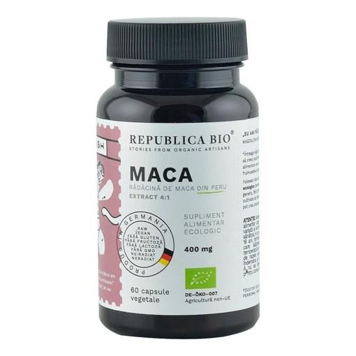 Imagine Maca ecologica Republica BIO Extract 4:1, 60 capsule