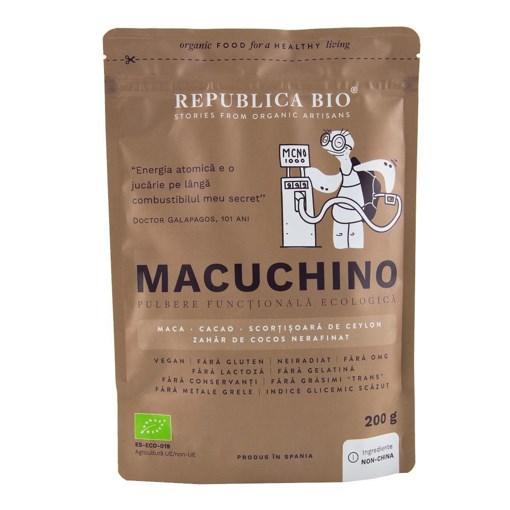 Imagine Macuchino, pulbere functionala ecologica Republica BIO, 200 g