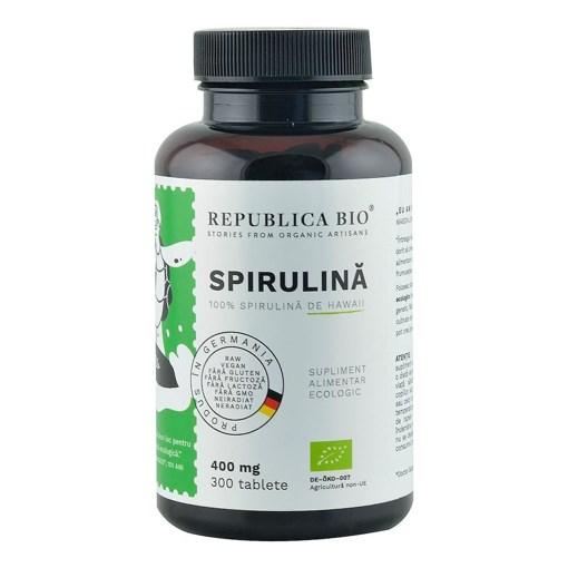 Imagine Spirulina ecologica Republica BIO, 300 tablete