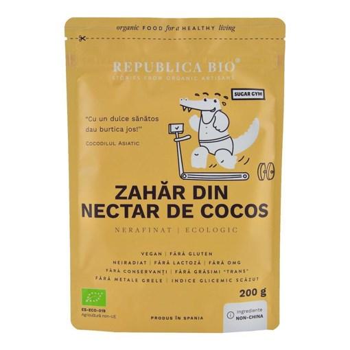 Imagine Zahar din nectar de cocos ecologic pur Republica BIO, 200 g